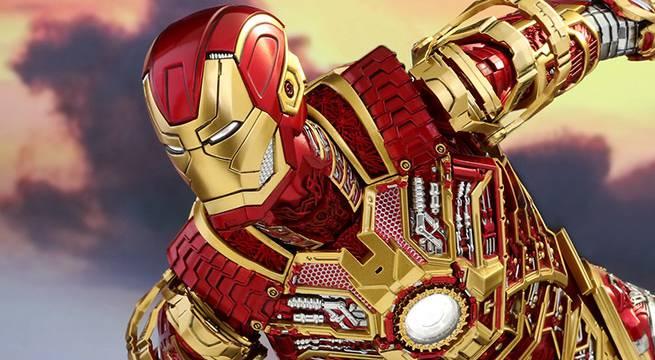 Iron Man 3 Bones Mark XLI Armor Collectible Figure Revealed By Hot Toys