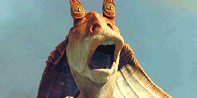 Jar Jar Binks Left Out of Star Wars 40th Anniversary Retrospective