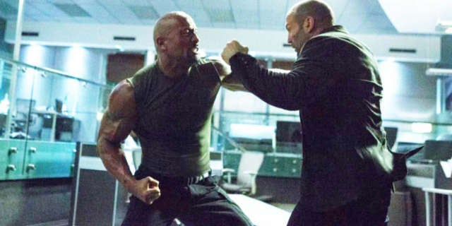 Jason Statham vs Dwayne Johnson Deleted Scene Fast Furious 8
