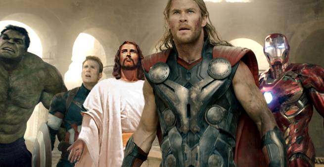jesus-and-avengers