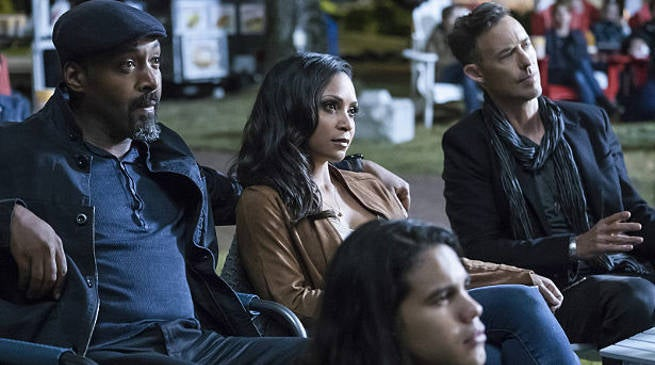 Joe West and Cecile in The Flash Season 3