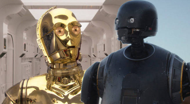 k-2so c-3po rogue one star wars meeting