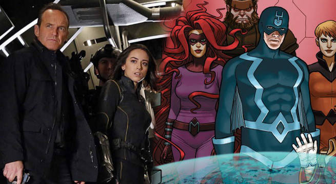 marvel agents of shield inhumans crossover