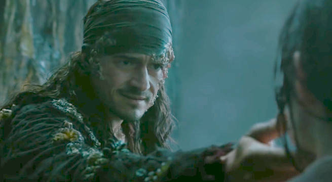 Orland Bloom's Family Reunion Featured In New Pirates Of The Caribbean 5 Promo