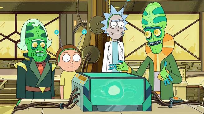 Rick and Morty the Ricks Must Be Crazy