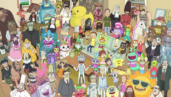 'Rick and Morty' Promoting New Season with Eye-Catching Phone Backgrounds Every Day This Week