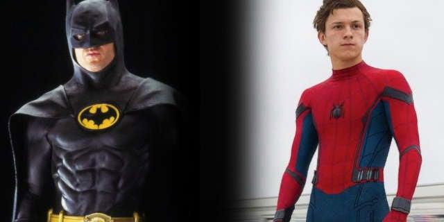 spider man homecoming michael keaton batman