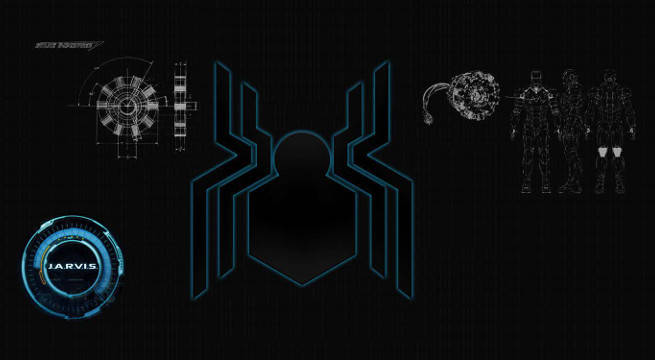 Spider-Man Homecoming Suit Has Jarvis Tech AI set visit