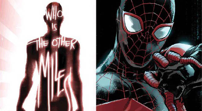 spider-men 2 miles morales peter parker sara pichelli brian bendis marvel