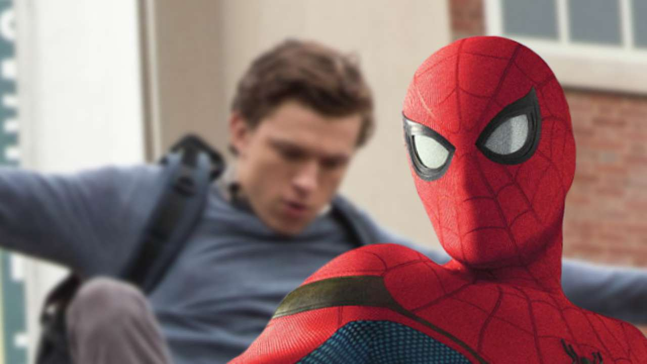 new spider man homecoming still shows peter skipping school