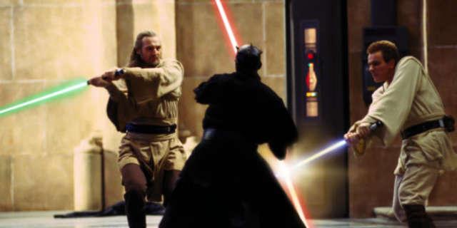 star wars phantom menace final duel