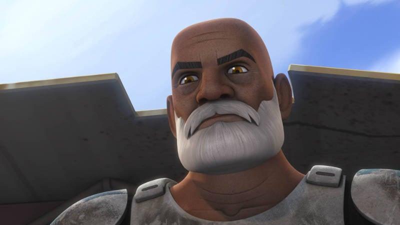 Stars Wars Captain Rex Battle Endor