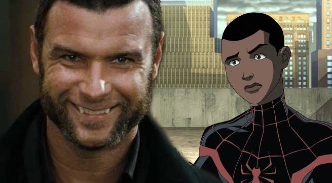 "Liev Schreiber Says Animated Spider-Man Movie Will Satisfy ""Hardcore"" Fans"