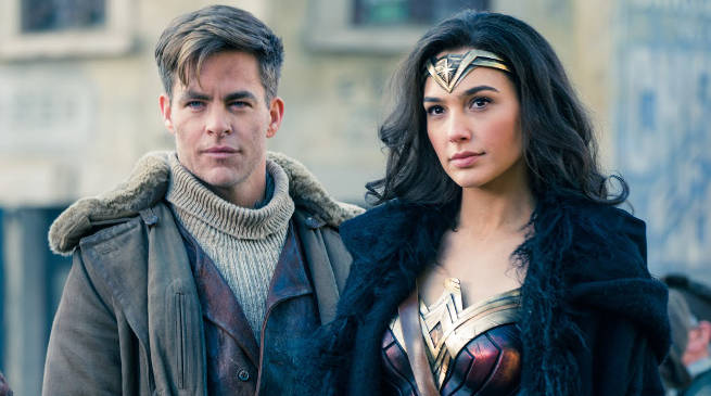 Wonder Woman and Steve Trevor in London