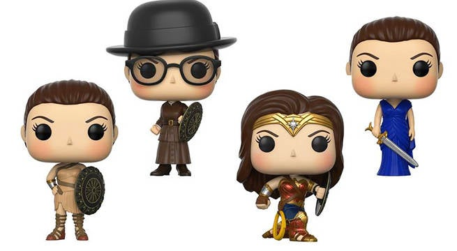 wonder woman funko exclusives