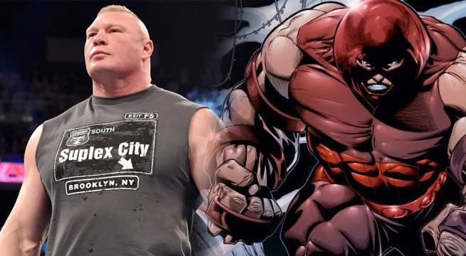 WWE-X-Men-Juggernaut-Brock-Lesnar