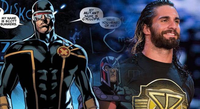WWE-X-Men-Seth-Rollins-Cyclops