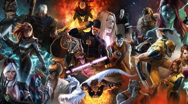 X-Men New Mutants Dark Phoenix Connection