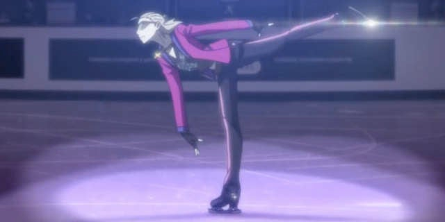 Yuri On Ice Releases New Animated Skating Routine