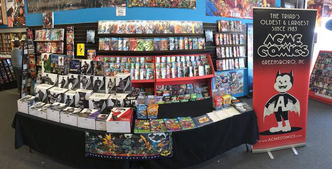 Acme Comics - North Carolina - 1
