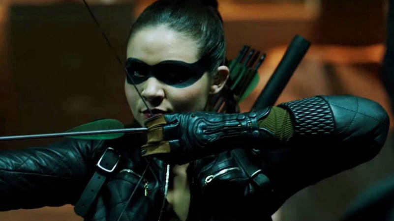 Arrow Season 6 Premiere Artemis