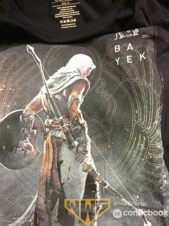 Assassin's Creed Origins Shirt Front