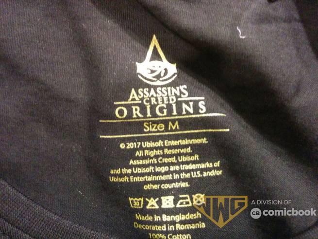 Assassin's Creed Origins Shirt Logo