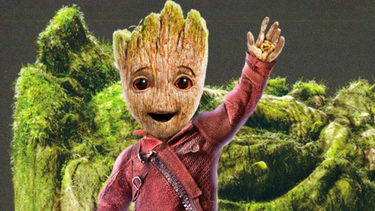 guardians of the galaxy 2 cute baby groot concept art