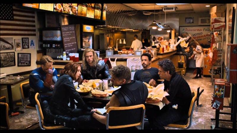 Best Marvel Movie Post Credits Scenes - Avengers Schwarma
