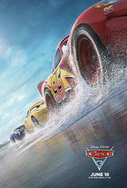 Cars 3 movie poster image