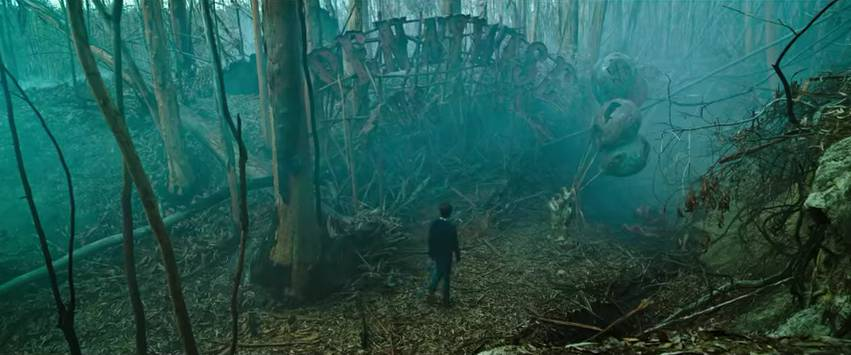 dark tower stephen king pennywise theme park trailer it