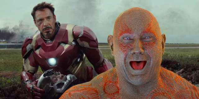 Iron Man And Drax Will Share A Scene In Avengers Infinity War