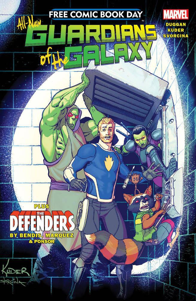 FCBD All New Guardians Of The Galaxy