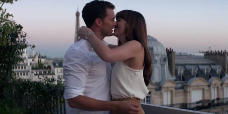 Dakota Johnson Reveals Thongs Were Glued to Her Body During 'Fifty Shades Freed'