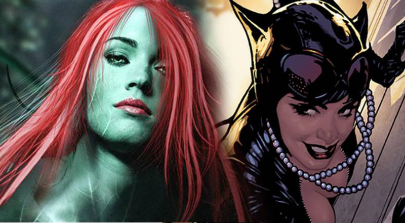 Gotham City Sirens Cast - Natalie Dormer Megan Fox