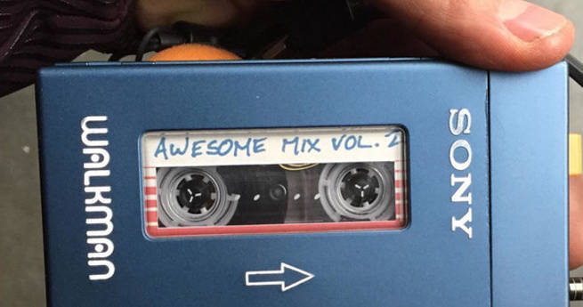 Guardians of the Galaxy 2 Walkman Destroyed