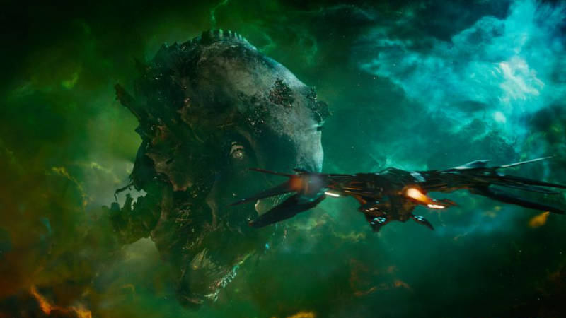 Guardians of the Galaxy Easter Egg Ego Knowhere