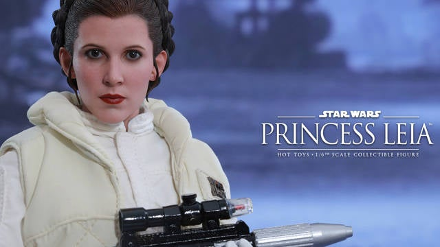 Hot Toys - Star Wars - EP5 - Princess Leia collecitble figure-Header