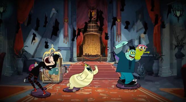 hotel transylvania animated series disney channel