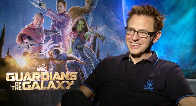 James Gunn is back on Guardians of the Galaxy Vol 3