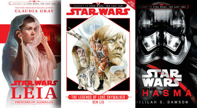 journey to star wars the last jedi new books