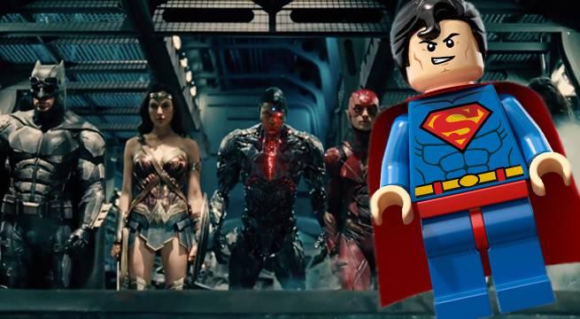 justice league superman lego