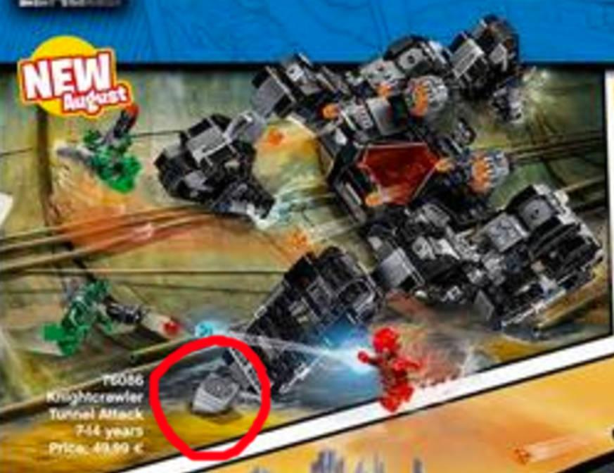Justice LEGO set Man Mother Box