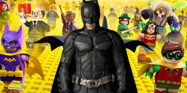 LEGO Batman Christopher Nolan