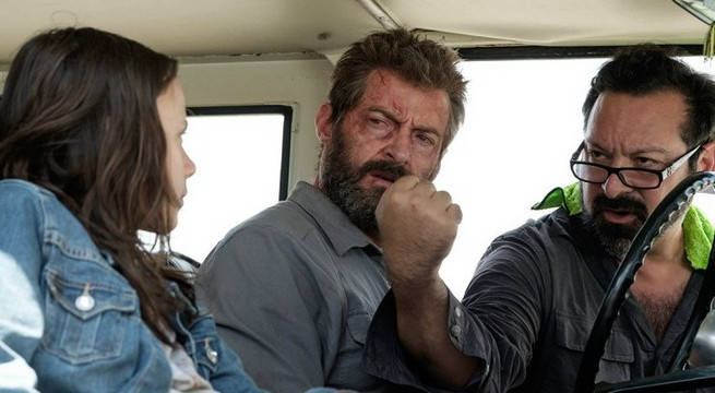 Logan behind the scenes