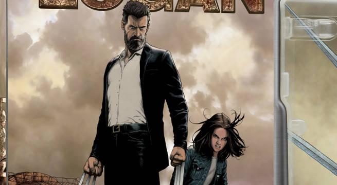 Old Man Logan Artist Steve McNiven Covers Logan's Blu-Ray Steel Book