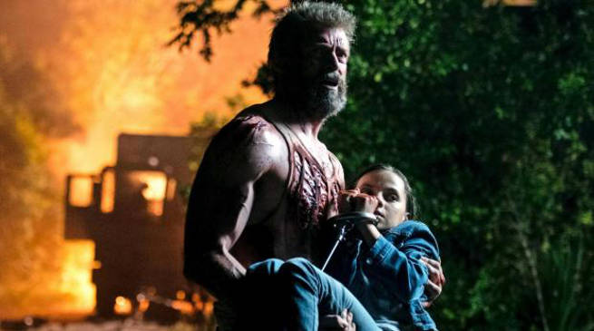 Logan Movie Ending Hugh Jackman Cry