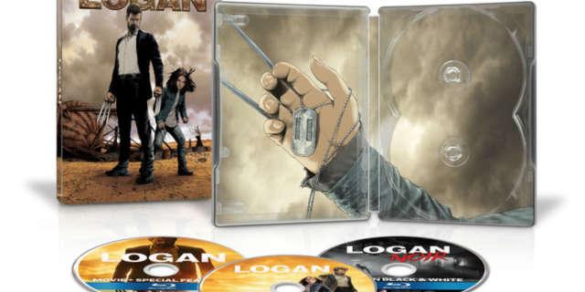 logan steelbook blu ray special edition steve mcniven