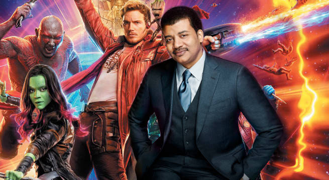 neil degrasse tyson guardians of the galaxy vol 2