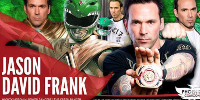phoenix comicon gunman allegedly wanted to kill police jason david frank green power ranger